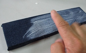 You paint it so that there is no paint irregularity even as for the edge of the board.